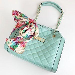 Apt. 9 mint quilted handbag / purse